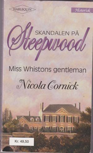 """A Companion of Quality (The Steepwood Scandal, Book 4) (Harlequin Historical Series #99)"" av Nicola Cornick"