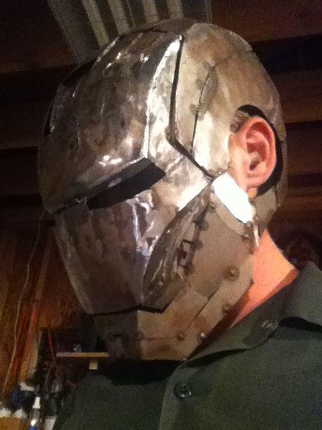 Picture of Ironman Welding Helmet Part 1.