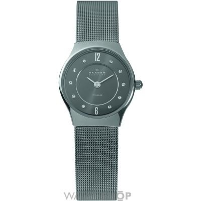 Ladies Skagen Titanium Watch 233XSTTM