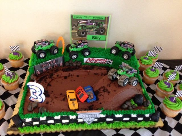 46 best Billys Grave Digger 3rd bday images on Pinterest
