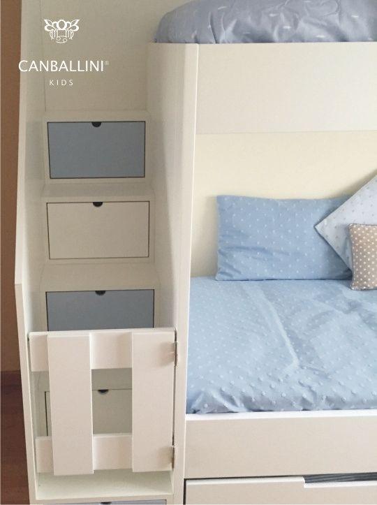 Literas con camas paralelas para habitaciones infantiles y for Bona nit muebles
