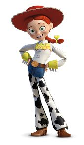"Jessie in ""Toy Story 2""- voiced by Joan Cusack (speaking.)"