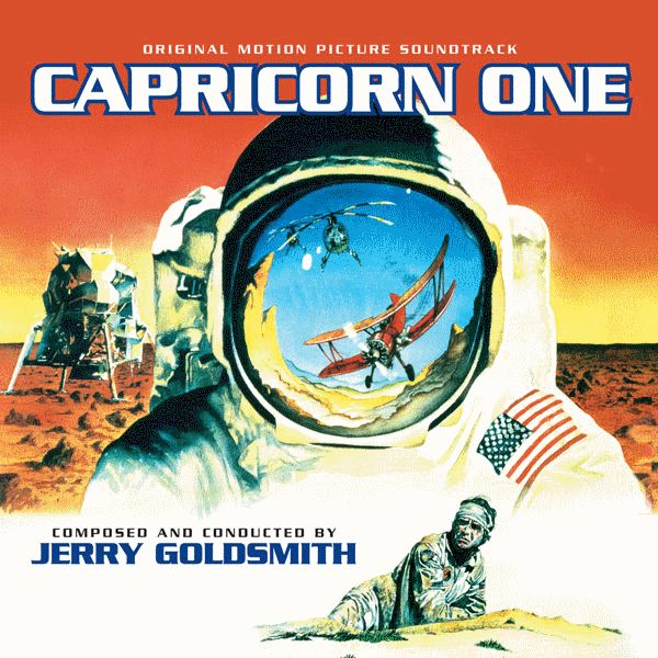 CAPRICORN ONE - Original Motion Picture Soundtrack, Composed and Conducted by JERRY GOLDSMITH