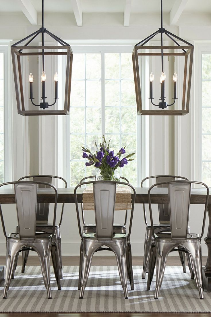 The Gannet 4 Light Chandelier By Feiss Exudes Rustic Charm With A