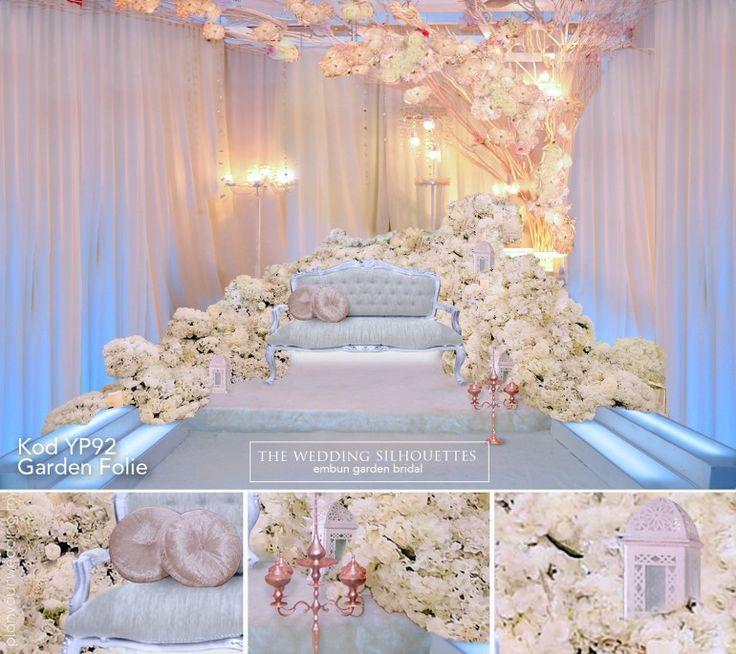 Wedding Nikah Simple Backdrop Decoration Muslim: 161 Best Wedding Dais Pelamin Images On Pinterest