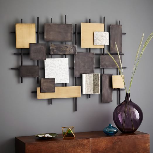 Metal Wall Designs wall decor rustic rustic wall dcor for focal point the house Wondering If This Might Be A Diy Project In My Future Metal Mirror Wall