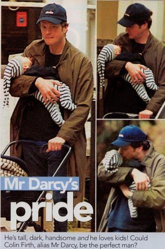 Luca De 6 Y Mateo 3 En La Foto Aparece Con Colin Firth