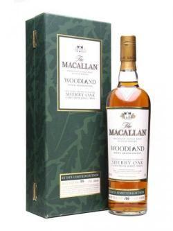Macallan 12 Year Old Woodland Estate Speyside Whisky