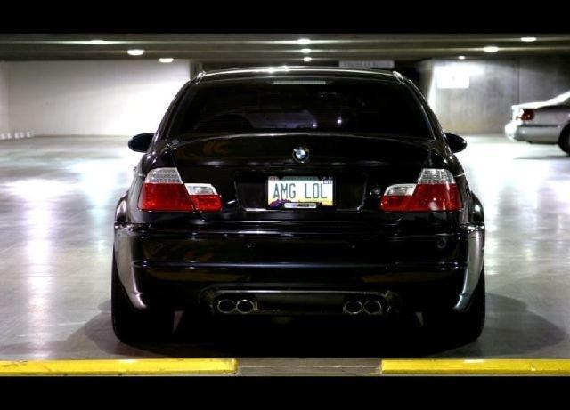 Bmw M3 Amg Lol Licence Plates