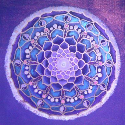 Meditation Mandala by Julie Frost