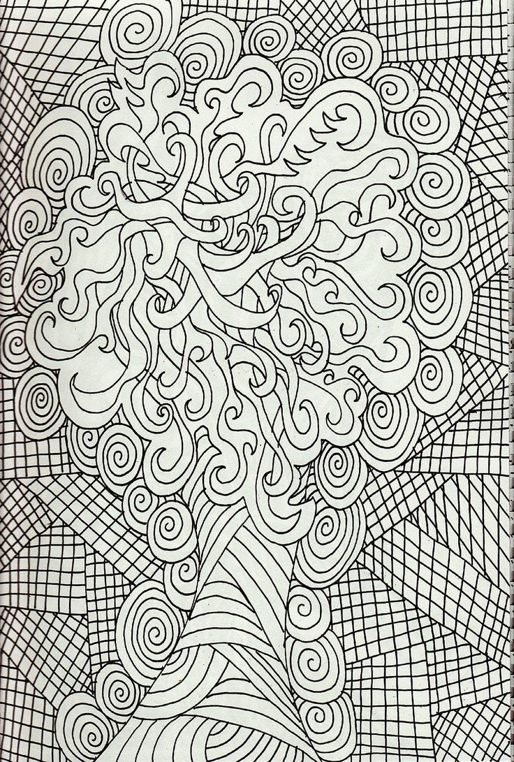 Adult coloring pages for stress relief - Stress Relief Coloring Pages Printable