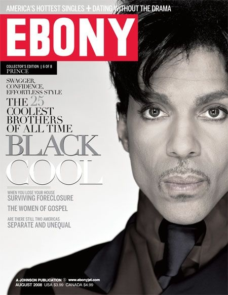 Prince - Ebony Magazine (August 2008)