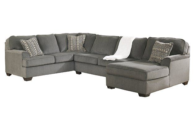 Loric 3 Piece Sectional With Chaise Ashley Furniture Homestore Ashley Furniture Living Room Furniture Ashley Furniture