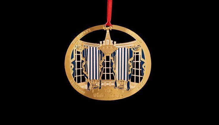 White House Christmas Ornament: 1990