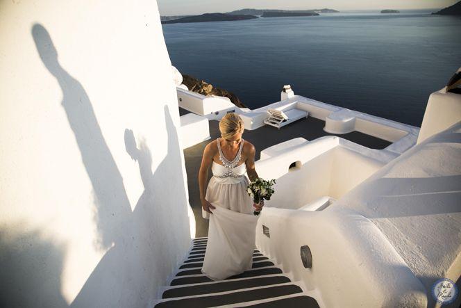 Oia Venue   Santorini Wedding by Stella and Moscha - Exclusive Greek Island Weddings   Photo by Nikos P. Gogas