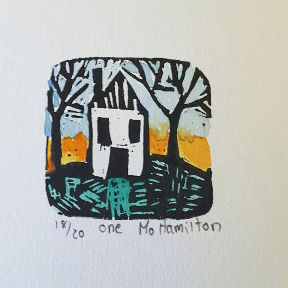 Hey, I found this really awesome Etsy listing at https://www.etsy.com/ca/listing/278783914/no1-of-the-100-houses-project-lino-cut