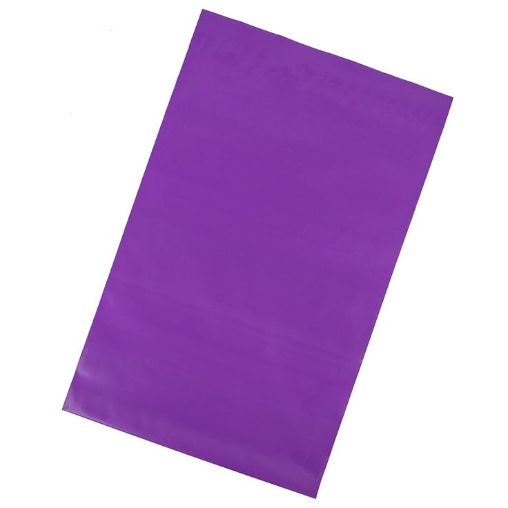 FITS MOST ITEMS: Package contains 100 unpadded purple poly mailers that are 14.5 x 19 inches (36.8cm x 48.3cm). These shipping envelopes are perfect for shippin