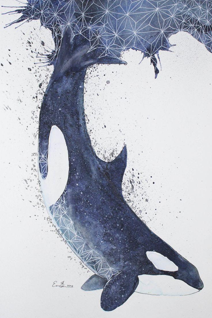 Orca by eriksherman.deviantart.com on @DeviantArt