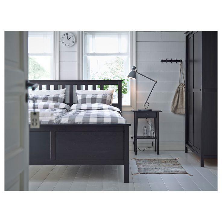 Ikea Hemnes Nachttisch Schwarzbraun Dunkle Mobel