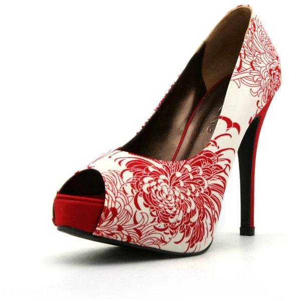 The 25  best Floral high heels ideas on Pinterest | Pumps, Heel ...