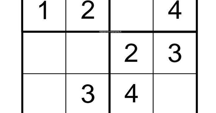 Sudoku 1 4 Hääräämö.pdf Sudoku, Math