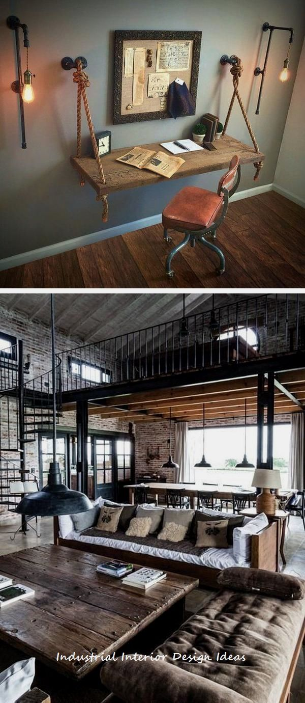 Diy Industrial Design Ideas 1 With Images Industrial Home