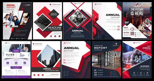 بروشور جديد Brochure مجموعة بروشور فيكتور و Psd بألوان مميزة جاهز للتعديل عليه لصممي الدعاية والإعلان B Free Brochure Template Brochure Psd Brochure Template