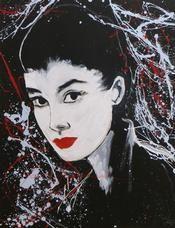 Face Value Audrey Hepburn (Geisha)