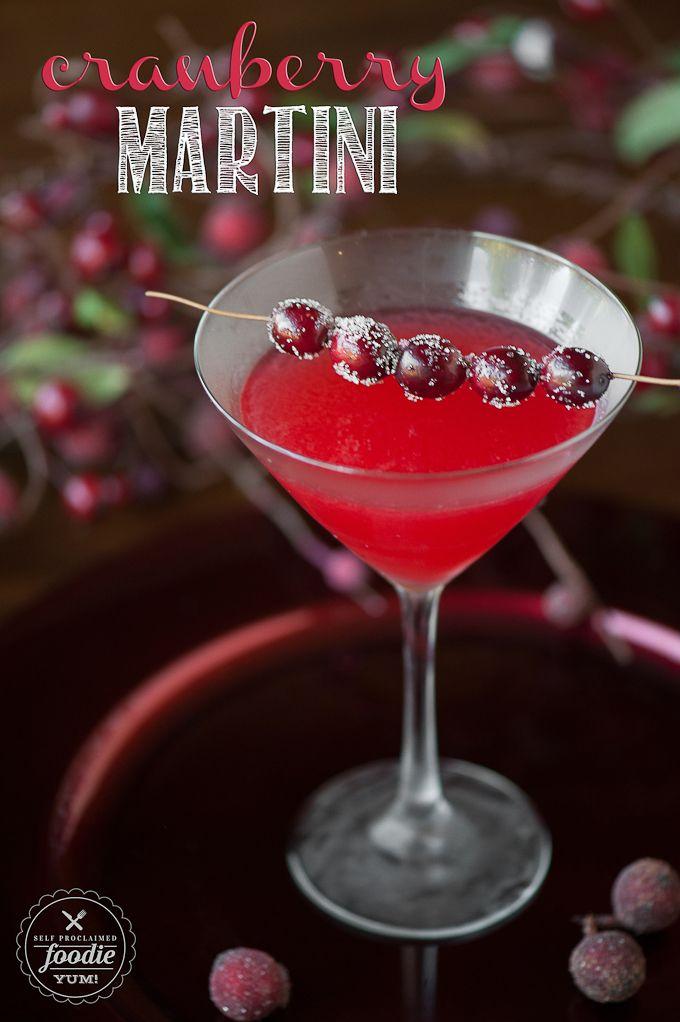 Cranberry Martini #martini #christmasdrink #holidaydrink http://livedan330.com/2014/11/15/cranberry-martini/