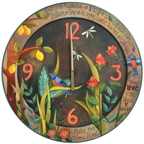 "36""D Round Wall Clock"