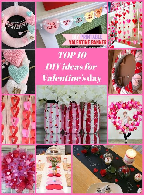Top ideas for you Valentine's day DIY, #Valentine's #Projects Valentne's day decor  DIY Projects Valentine's Ideas