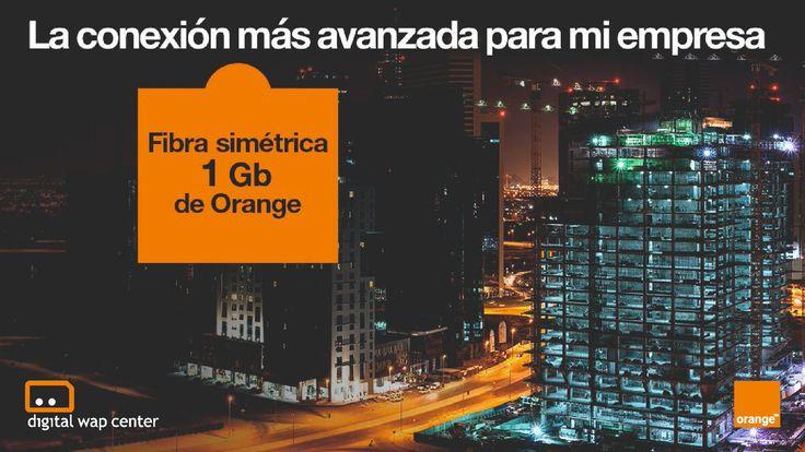 #GRANDESEMPRESAS ➡️ Ultravelocidad ⚡️ para navegar en su empresa. Más cobertura y mejores servicios solo con la Fibra de Orange.