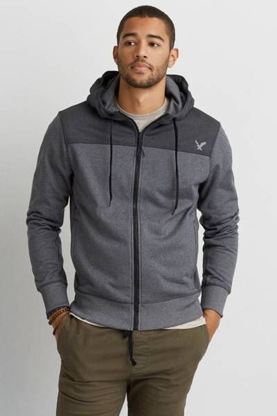 AEO Active Flex Any/Wear Hoodie  by AEO | Your best hoodie comes in new Active Flex technology for revolutionary flexibility, retention