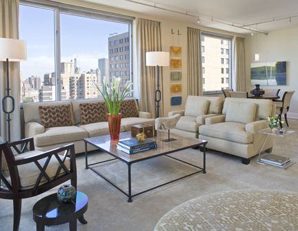 Robin Rains Interior Design Living Room Seating