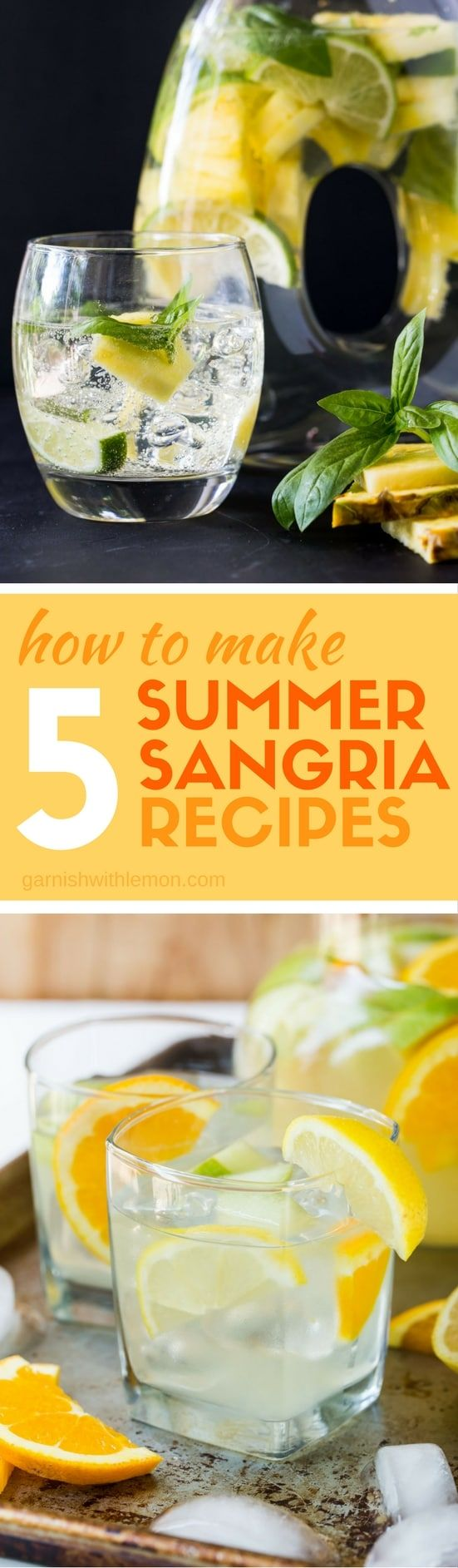 Not sure how to make sangria? Check out our tips for how to make 5 Easy Summer Sangria Recipes!