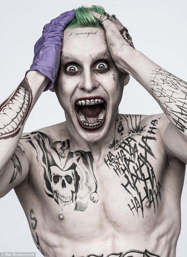 Iconic character: Jared Leto said going 'method' to take on the role of The Joker in highly-anticipated film Suicide Squad took him on 'a pretty deep dive'