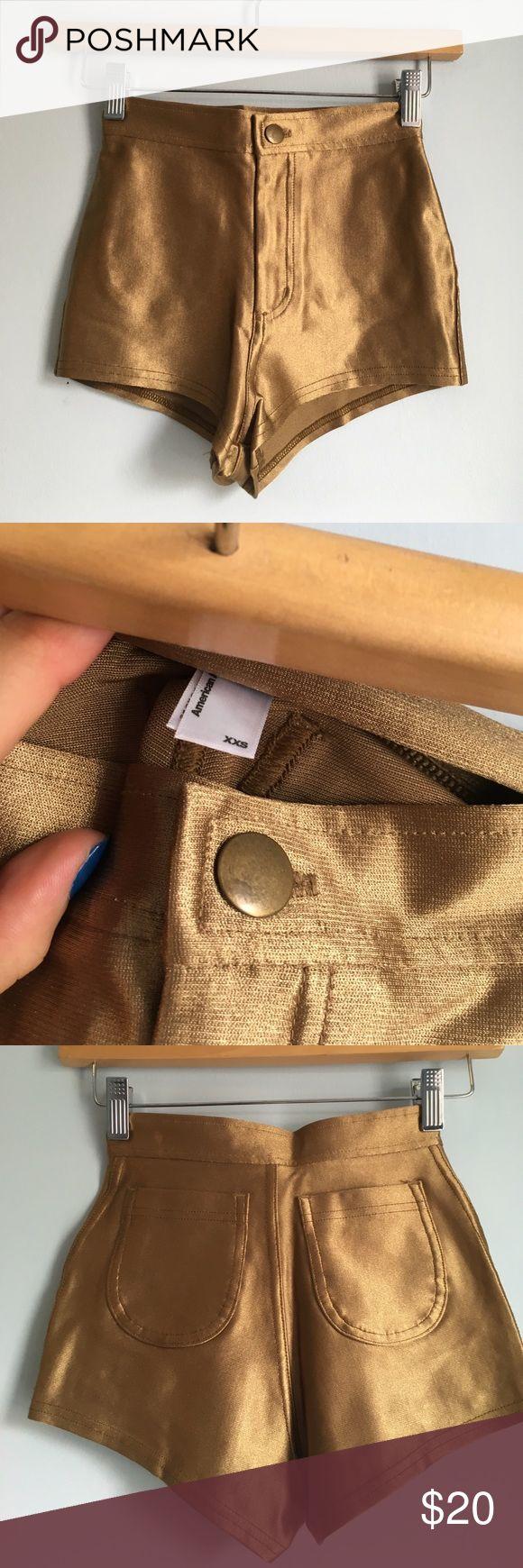 American apparel golf disco shorts Excellent condition. Super cute piece. American Apparel Shorts