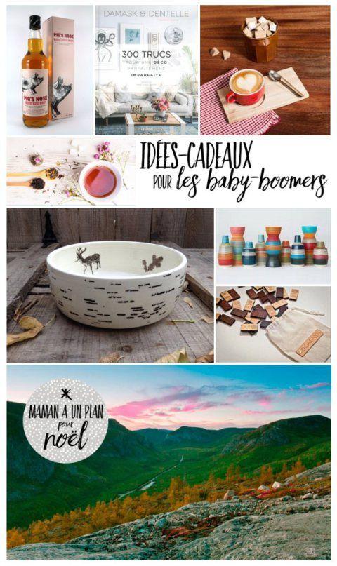 L'équipe de Maman a un plan a plus d'un tour dans sa poche de père Noël et vous suggère huit bonnes idées pour gâter votre baby-boomer préféré.