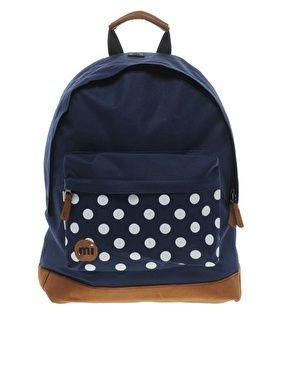 Mi Pac Spot Print Backpack