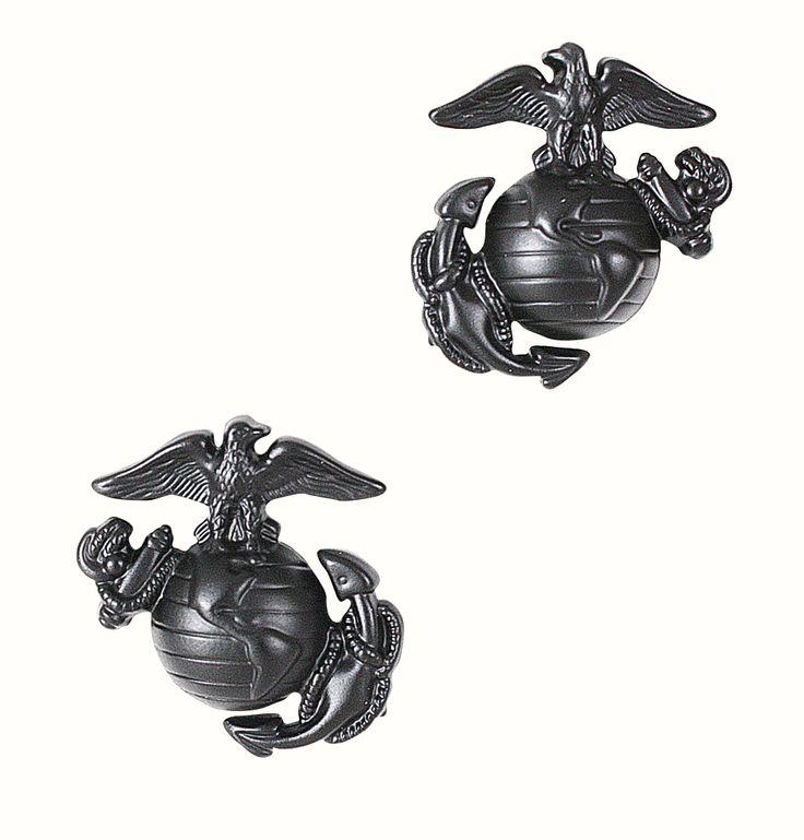 Insignia Militar  Cuerpo de Marines Black www.usamericanshop.com