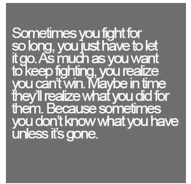 He never got it, so I just let go.. it was a lot easier when I let myself realize we deserve so much better than you.