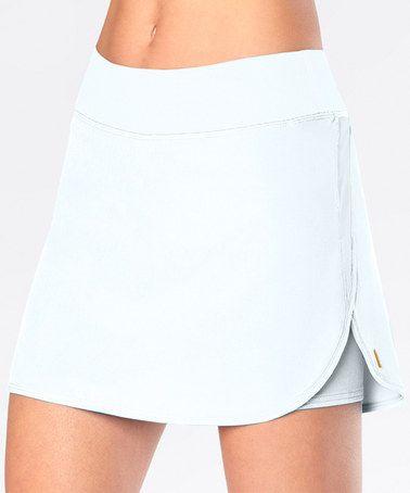 Loving this Lucy White Endurance Skirt on #zulily! #zulilyfinds