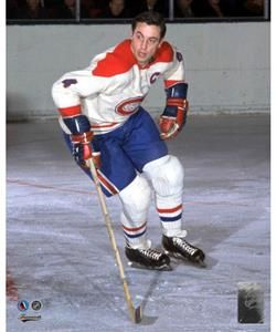 FRAMEWORTH HHOF MONTREAL CANADIENS JEAN BELIVEAU PHOTO