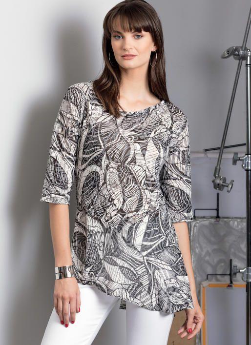 c13b032955 Vogue V9301 MISSES' TOP by Kayla Kennington #sewingpattern | Vogue ...