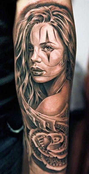 Tattoo Artist - Jun Cha - woman tattoo | www.worldtattoogallery.com