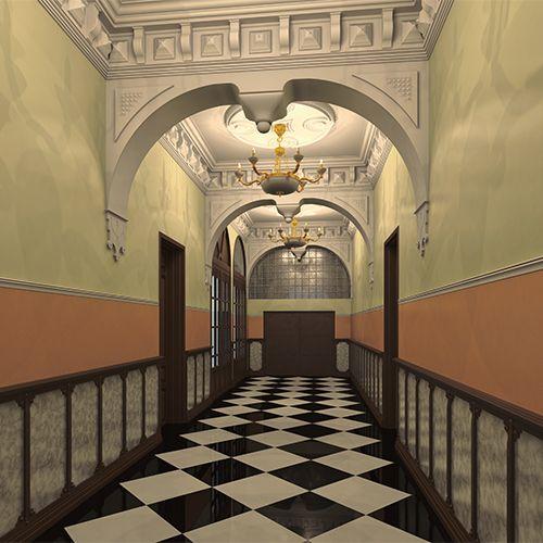 Reforma de portal de acceso en edificio histórico   extraBold Creative Studio
