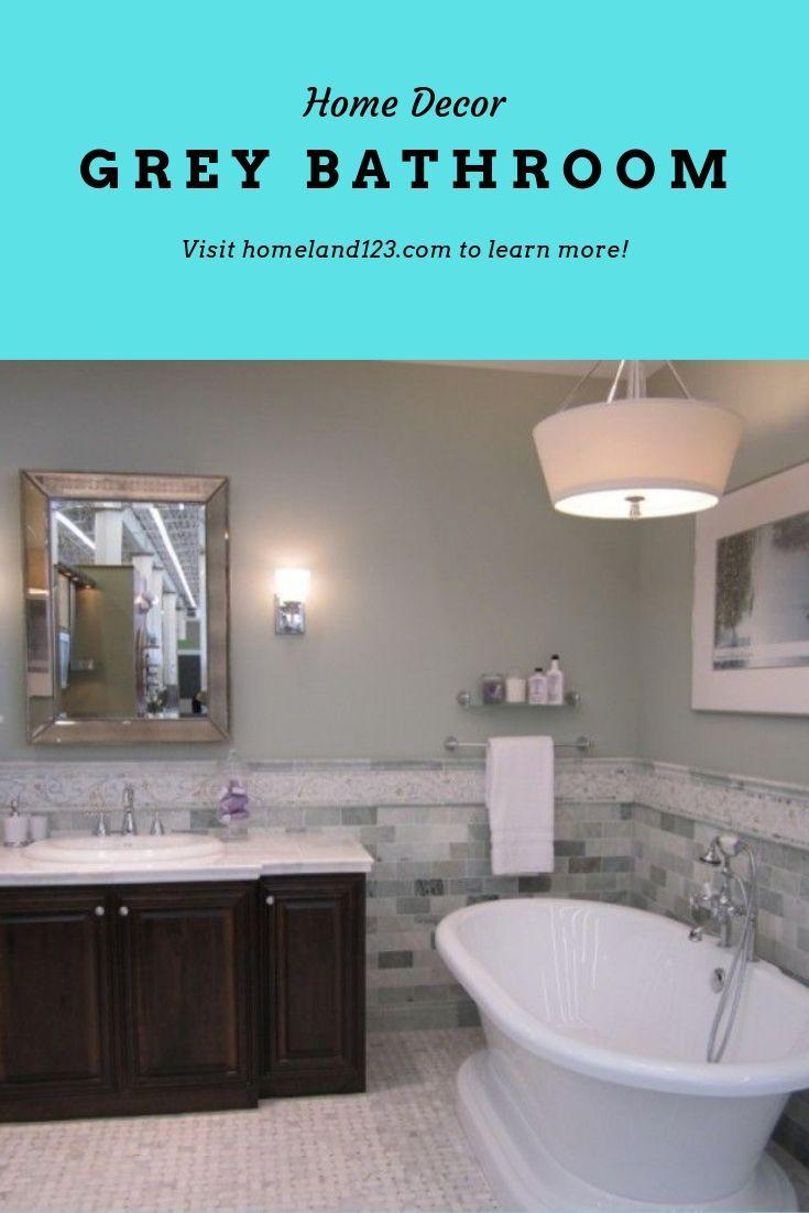 Best Grey Bathroom Ideas Images In 2019 Greybathroomideas Greybathroom Tile Ideas Cabinets Gray Bathroom Decor Grey Bathroom Tiles Grey Bathroom Floor