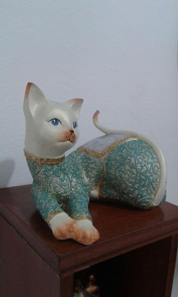 gato-pintado-a-mano-en-ceramica-505911-MCO20657947486_042016-F.jpg (720×1200)