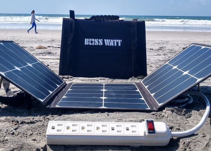 Boss Watt Has Developed A New Solar Panel Charging System Which Comes Complete With Wall Socket Connection Solar Panels Solar Panels For Home Best Solar Panels