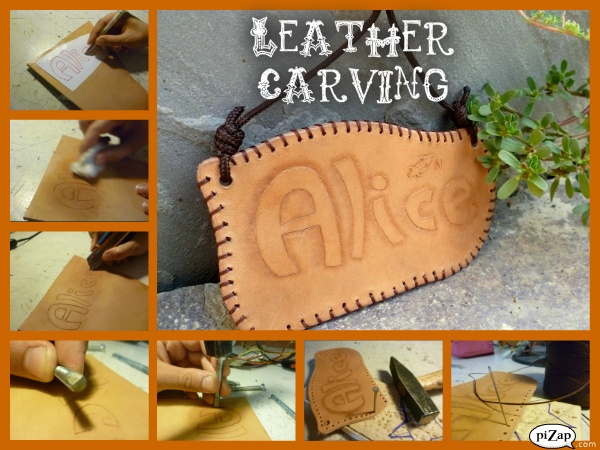 Basic leather carving tutorials and